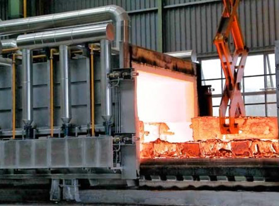 Moving Hood Reheating Furnace